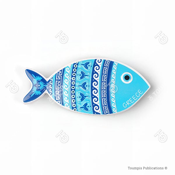 Ψάρι, ελληνικό μοτίβο, greek motifs, psari