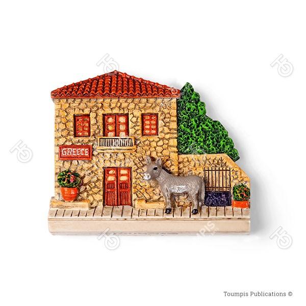 Ορεινό σπίτι, Παραδοσιαακό πέτρινο σπίτι, σπίτι σε ελληνικό χωριό, oreino spiti, paradosiako petrino spiti, spiti se elliniko xorio,gaidaros, gaidoyraki, γαιδαρος, γαιδουράκι, σπίτι στο βουνό, spiti sto vouno
