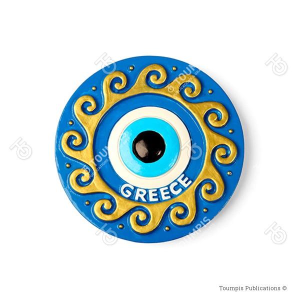 Ματάκι, Μάτι, Κακό μάτι, ελληνικό μοτίβο, greek motifs, Mataki, Mati, Evil Eye, Kako mati