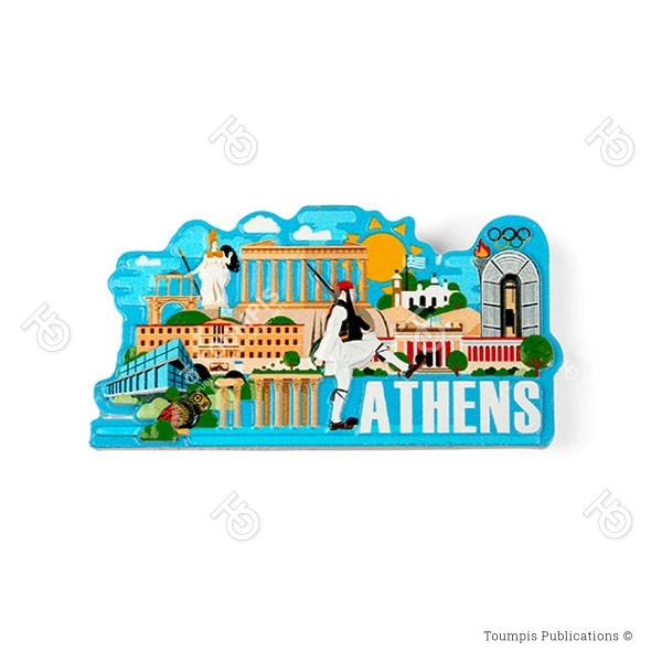 Αθήνα, Αθήνα χάρτης πόλης, αξιοθέατα Αθήνας, landmarks of Athens, athina axiotheata
