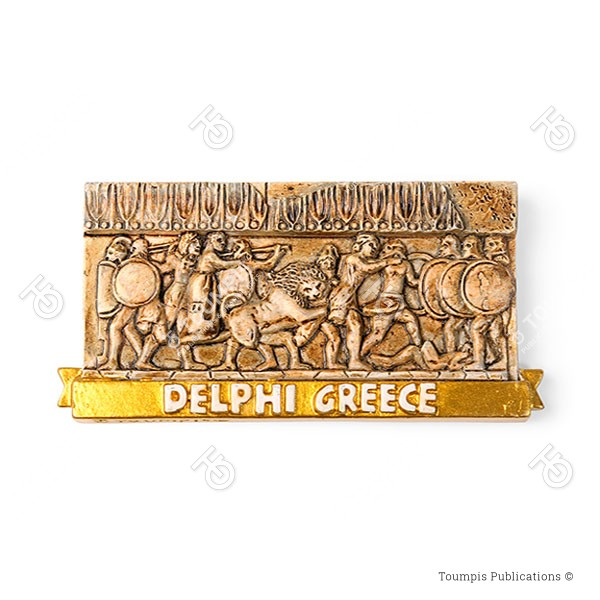 Siphnian Treasury, thisavros siphnion, thisauros twn sifniwn, Θησαυρός των Σιφνίων, Αναπαράσταση Δελφων, Δελφοί, αρχαιολογικός χώρος Δελφων, μνημεία Δελφων, μουσείο Δελφων,