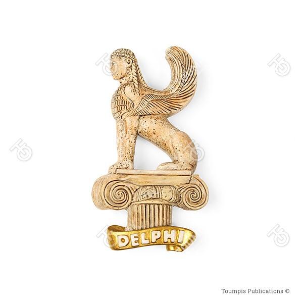 Σφίγγα των Ναξίων, άγαλμα κολοσσιαίου μεγέθους, The Naxian Sphinx, μθσεθμ οφ Δελπηι, μοθσειο δελπηςν, mouseio Delphon, mouseio delphwn, μουσείο Δελφών