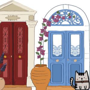GREEK DOORS
